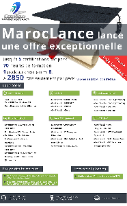 Session promotionnelle 5 Certifications à 2850 Dhs ! Places limi
