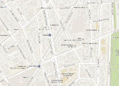 Magasin à céder dans la rue d'Assas coté de la rue de Rennes 75006