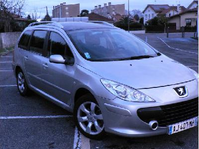 PEUGEOT 307 sw confort pack 1.6hdi 7 places