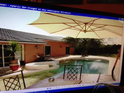 LOFT meuble sud de la france 211 m2 avec piscine