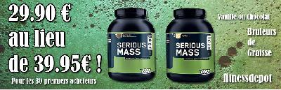 Serious Mass de Optimum Nutrition gainer
