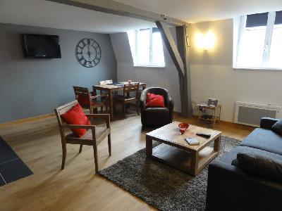 Magnifique appartement meublé T1 de 37m² refait à neuf sur Lille