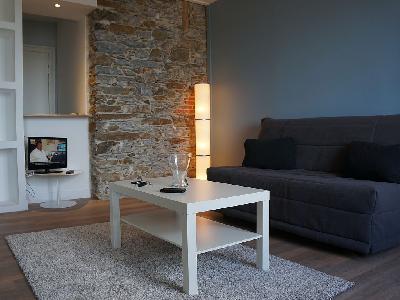 joli studio refait neuf dans un immeuble de qualit sur nantes annonce immo location studio. Black Bedroom Furniture Sets. Home Design Ideas