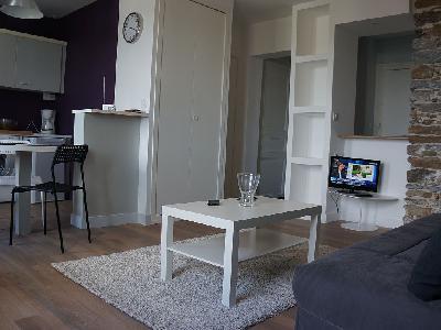 Joli studio refait à neuf dans un immeuble de qualité? sur Nantes