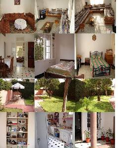 Furnished villa holiday rental Morocco Casablanca 1100 dhs / night GSM: 002126.1