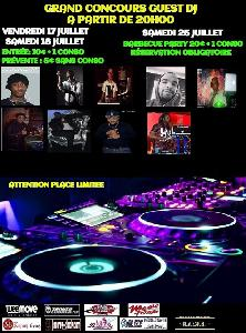 GRAND CONCOURS GUEST DJ