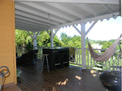 je vend ma Villa T4 duplex récente 105 m2 - vue campagne à Ducos - Martinique 9