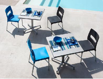 Lot Mobilier Terrasse Bar Restaurant Maxi Diva Cross
