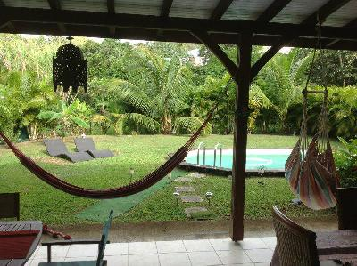 Très belle villa créole récente avec piscine?