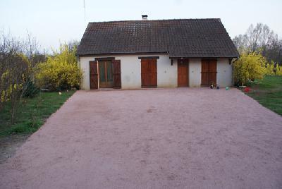 maison de plein pied avec beau terrain