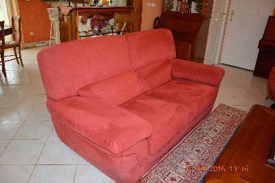 1 canape 2 places 1 canape 3 places fauteuil relax assorti annonces gra - Canape 2 places fauteuil assorti ...