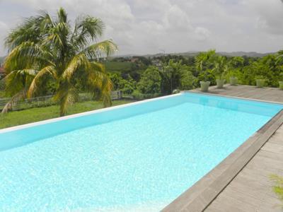 Villa t5 avec piscine annonce immo location villa for Chauffage piscine 974