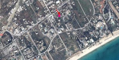 Vente de Terrain à une zone huppée d'Hammamet en Tunisie