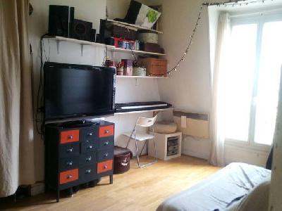 Location meublée appartement 2 pièces 27 m² Paris 14E