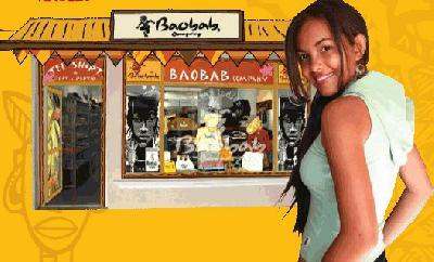2 magasins + master franchise à l'île Maurice des vêtements BAOBAB