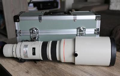 Objectif canon 500 mm
