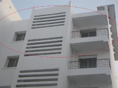 Bel appartement neuf d'environ 110m².