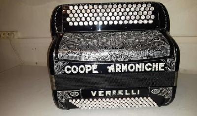 Accordeon Coop. Armoniche 4 voix