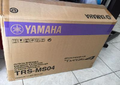 Clavier Yamaha tyros4 avec support,  HP et caisson
