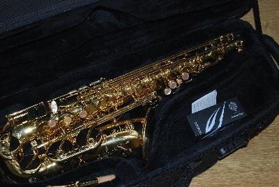 Henri Selmer Paris SA80 Series 2 Saxophone Alto - (or Laque)
