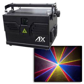 Laser multicolore afx light