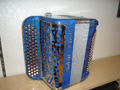 ACCORDEON FRATELLI CROSIO 3 VOIX MUSETTE EQUIPE MIDI occasion