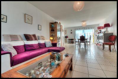 Plain-pied avec 3 chambres, garage, terrain 480 m2