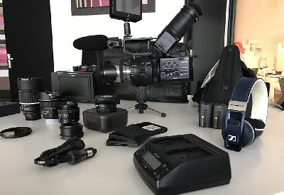 Pack tournage fs700 sony occasion