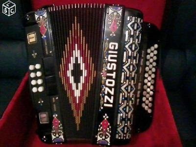 ACCORDEON DIATONIQUE Giustozzi