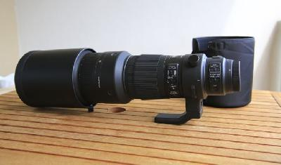 Sigma objectif 500mm f4 DG OS HSM Sports Canon