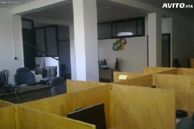 Location appartement usage bureaux equipe a sala al jadida Maroc