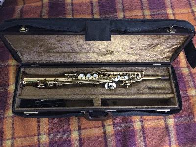 Saxophone Soprano Selmer super action 80 1 series