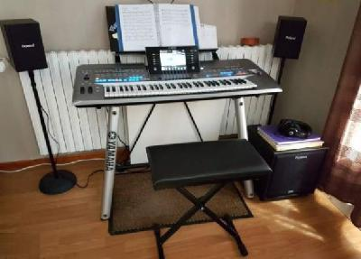 YAMAHA TYROS 5 - 61 touches + stand Tyros L7S