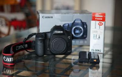 Canon 5D MARK III + Remote RS-80N3 + 4 batteries