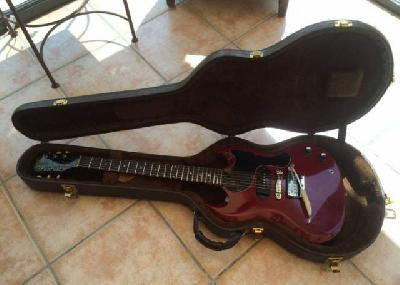 Guitare Magnifique Gibson Junior Cherry Red Made in USA