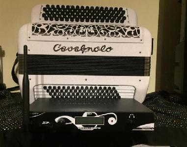ACCORDEON CAVAGNOLO CAVA DIGIT PRO ORCHESTRA LB9+ HF