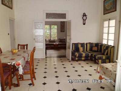 Location vacance casablanca Maroc villa meublée à 1200 dhs (120 euros)  / nuit