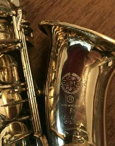 SAXOPHONE ALTO SELMER SUPER ACTION 80 occasion