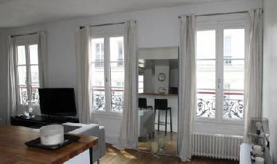 Appartement 2 pièces 1 chambre à Paris