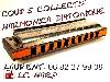 Photo petite annonce Cours collectif d'harmonica diatonique