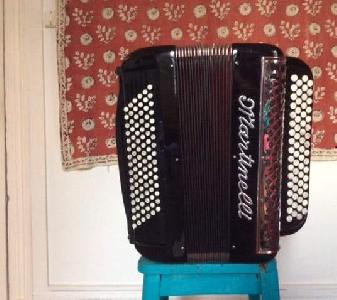 ACCORDEON CHROMATIQUE ,  5 registres,  96
