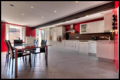 Maison en pierres rénovée, 140 m2, 4 chambres