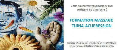 Formation Certifiante en Massage Tuina-Acupression