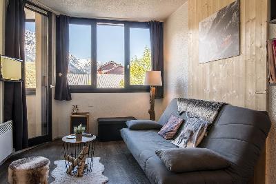 Appartement vue sur le Mont-Blanc