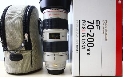 Zoom Canon 70-200 f2, 8 L IS USM