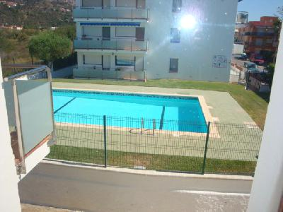 Appart. 2 chambres piscine à 200 m de la page Estartit (Costa Brava)