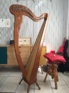 Harpe celtique camac mélusine