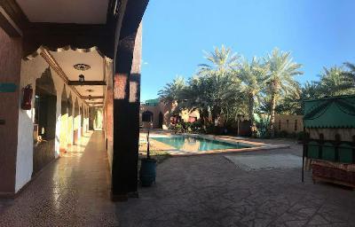 Vent maison d'hôte fond et mûre au maroca