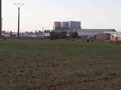 Vente terrain 18ha zone industrielle région Casablanca Maroc au prix de 800dhs/m