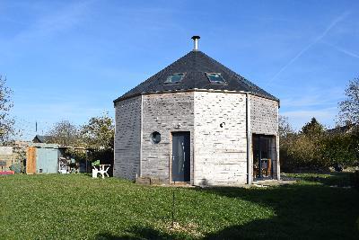 Maison en bois atypique BOUILLANCY